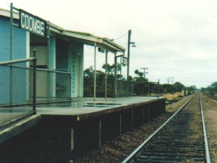 Coombe Railway Station, South Australia
