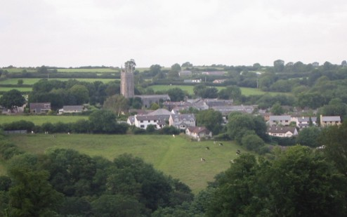 North Hill village and church of St Torney