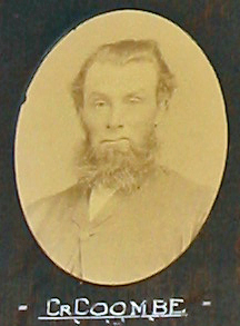 Samuel Coombe on the 1871 Hindmarsh District Council